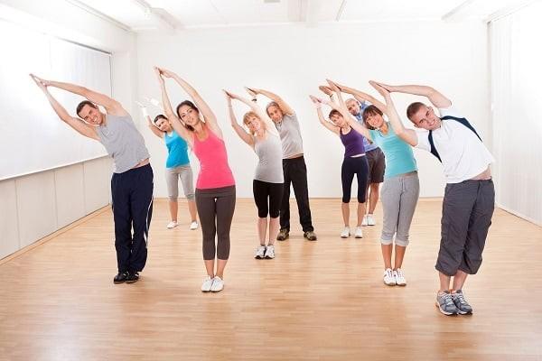 Luyện tập thể dục hàng ngày để tăng sức khỏe cho cơ