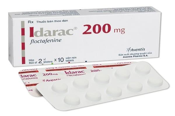 Thuốc giảm đau thuần túyFloctafenine