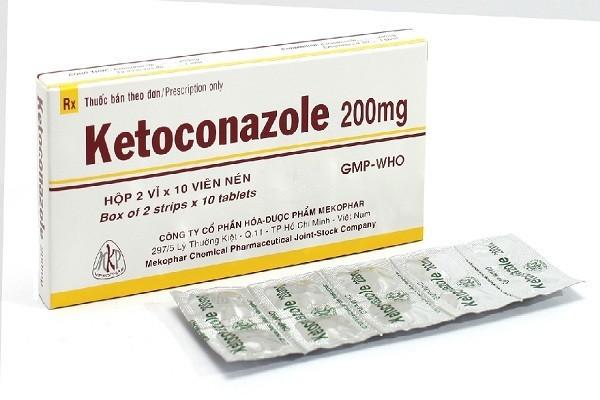 Thuốc Ketoconazole là một trong những thuốc được chỉ định để điều trị hội chứng cushing