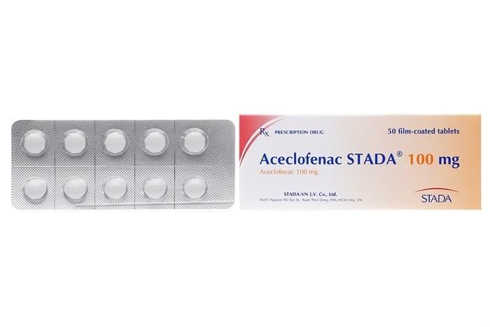 Thuốc Aceclofenac STADA