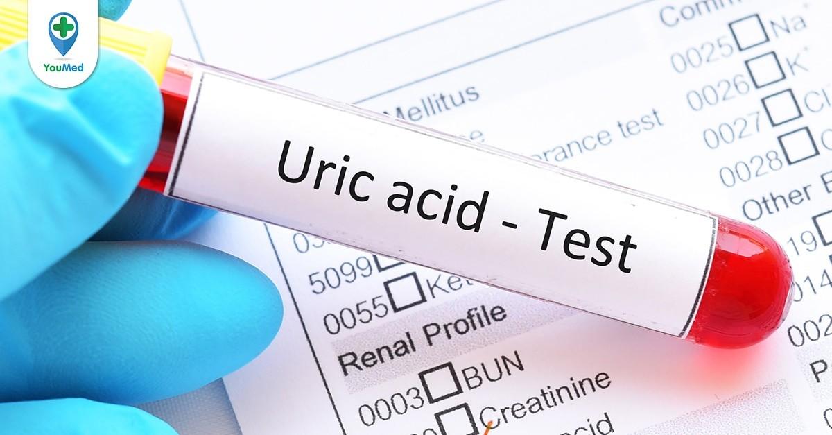 acid uric trong máu