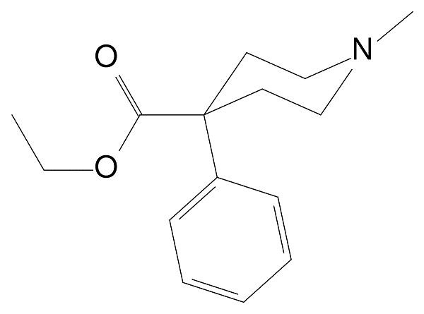 Cấu tạo của pethidin