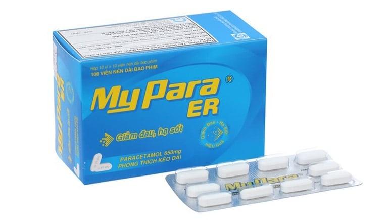 Thuốc Mypara ER (paracetamol)