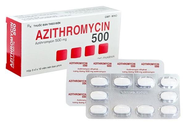 Thuốc kháng sinh Azithromycin