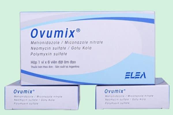 Thiết kế của thuốc Ovumix