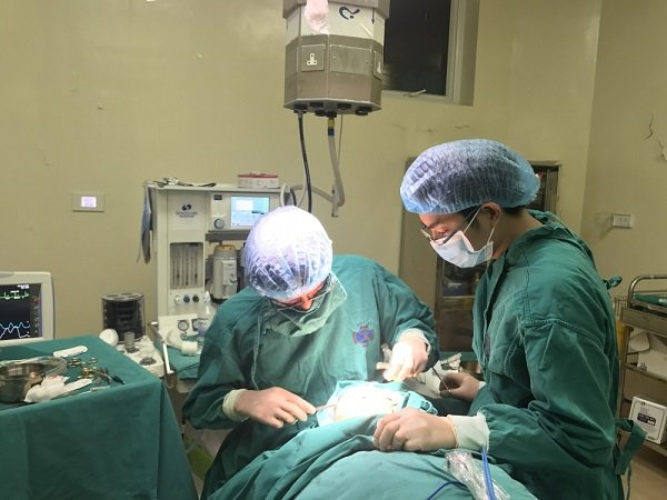 Mục tiêu của phẫu thuật là loại bỏ hoàn toàn Sarcoma mạch máu.