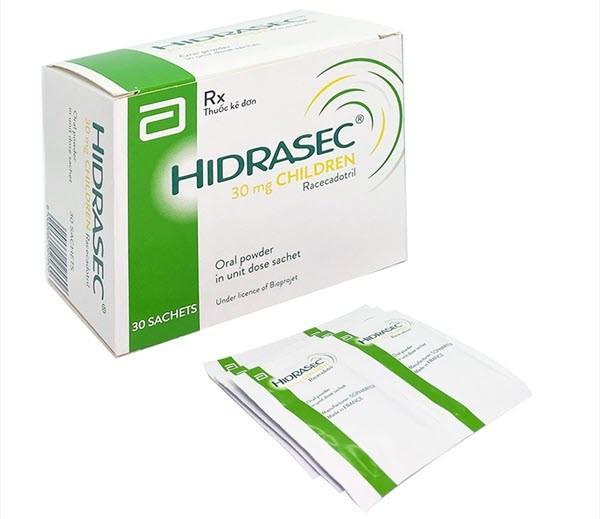 Thông tin chi tiết thuốc hidrasec children
