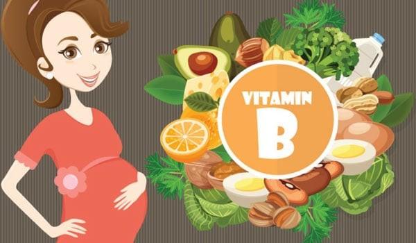 Vitamin B cần cho phụ nữ có thai