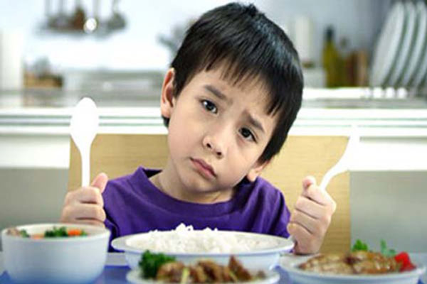 Trẻ chán ăn khi thiếu vitamin B1