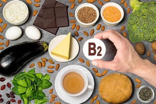 Một số thực phẩm dồi dào riboflavin