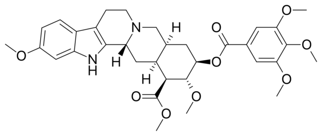 Công thức hoá học của Reserpin