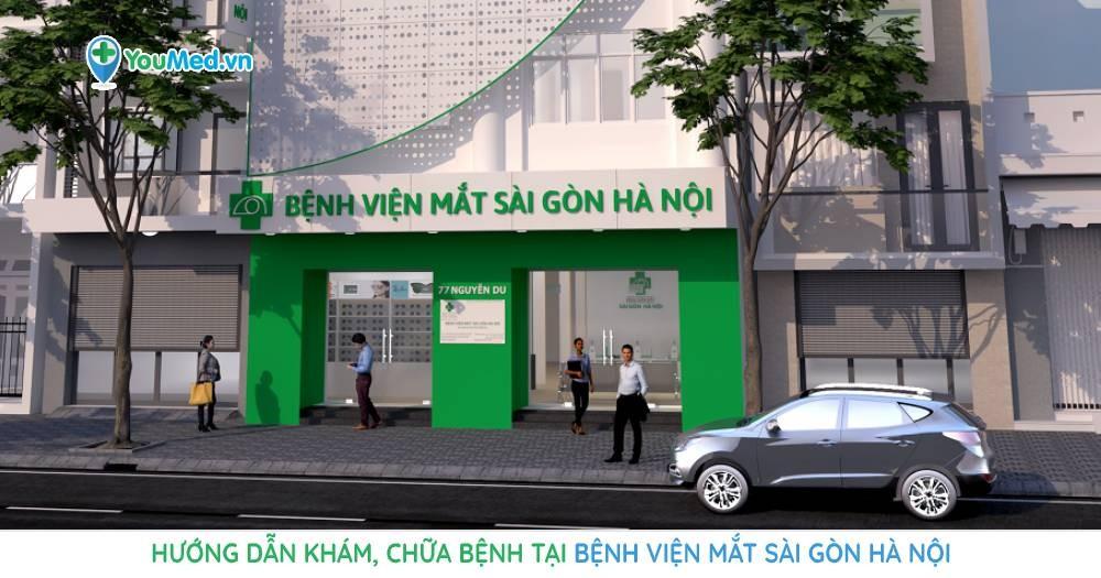 Hướng dẫn khám, chữa bệnh tại Bệnh viện Mắt Sài Gòn – Hà Nội