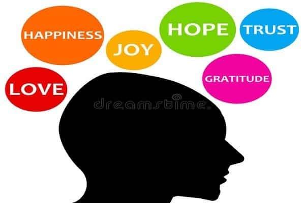 Hạnh phúc là sự kết hợp của nhiều cảm xúc tích cực - quan niệm về hạnh phúc