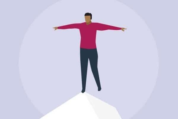 Khó giữ thăng bằng cơ thể