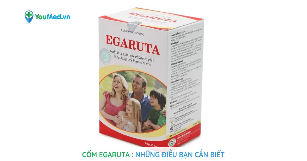 Cốm egaruta: Những điều bạn cần biết