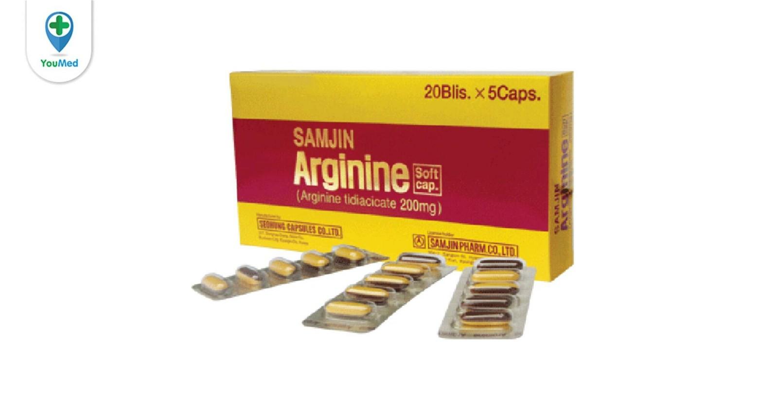 Thuốc arginin có tác dụng gì? giá, cách dùng và những điều cần lưu ý