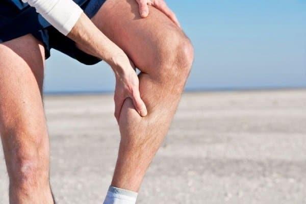 Rách cơ bắp chân
