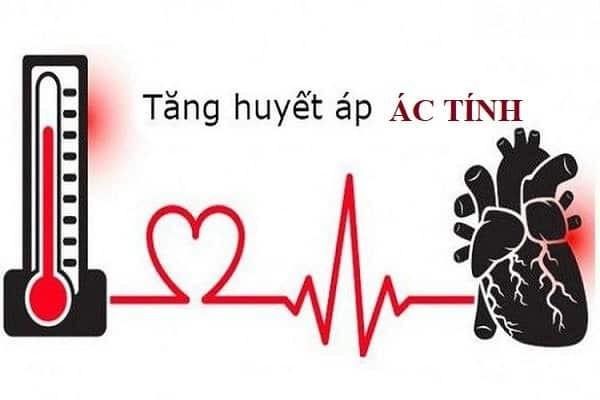 Tăng huyết áp ác tính là một cấp cứu y tế