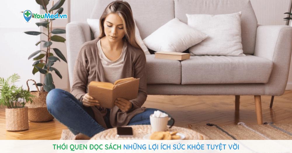 Thói quen đọc sách Những lợi ích sức khỏe tuyệt vời