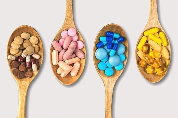Vitamin tổng hợp được sản xuất dưới nhiều hình thức khác nhau