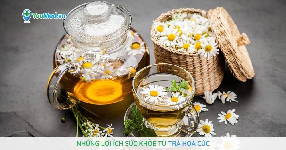 Những lợi ích sức khỏe từ trà hoa cúc