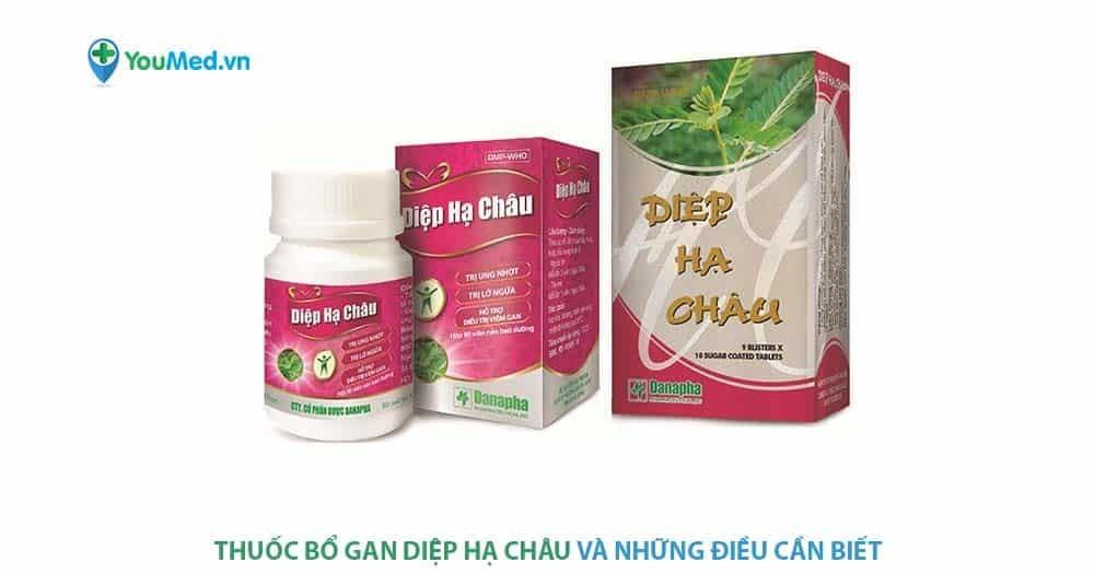 Thuốc bổ gan Diệp Hạ Châu