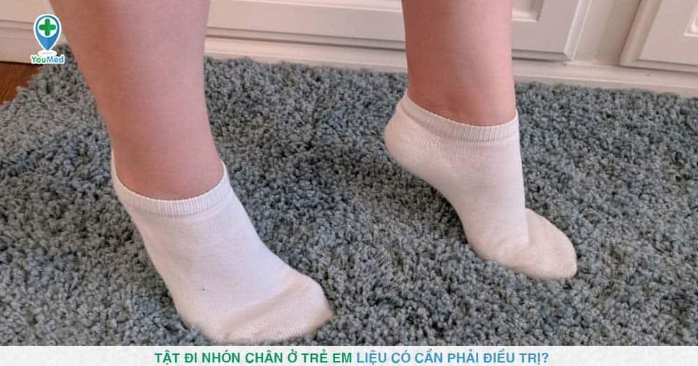 Tật đi nhón chân ở trẻ em liệu có cần phải điều trị?