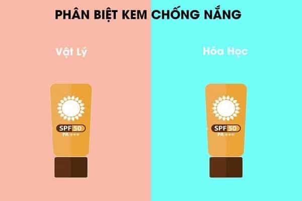 Kem chống nắng hóa học