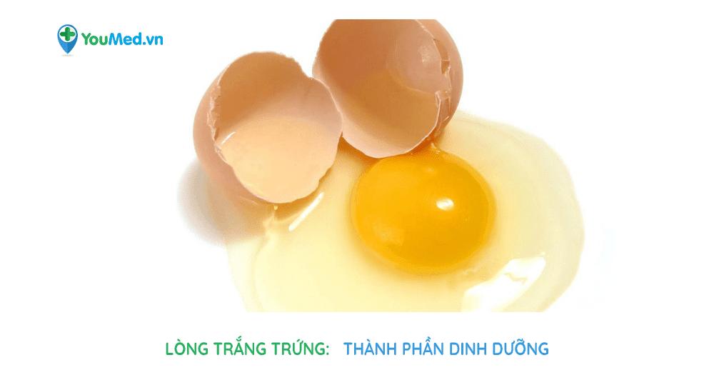 Bạn biết gì về lòng trắng trứng?