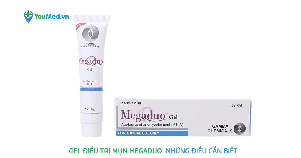 Những điều cần biết về gel điều trị mụn Megaduo