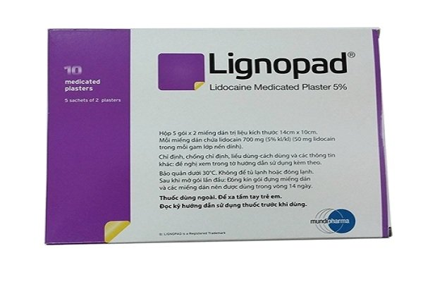 Miếng dán Lidocain 5%