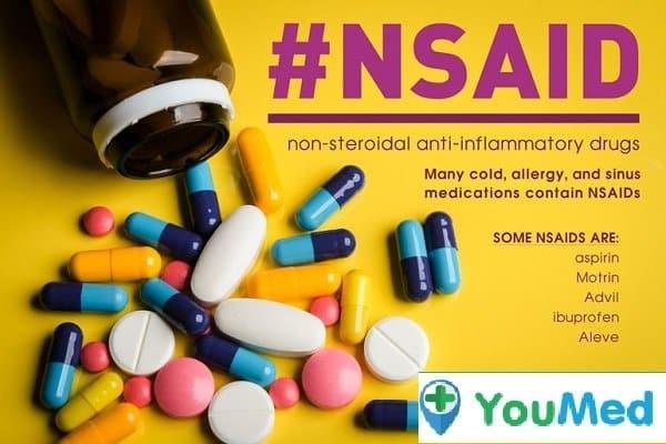 Nhóm thuốc kháng viêm Non Steroide - nóng rát bao tử