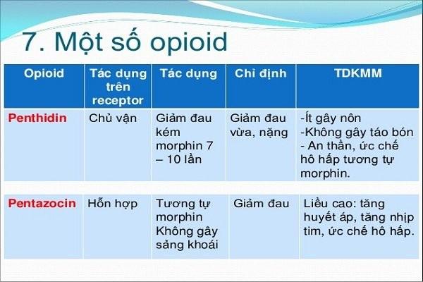 Thuốc giảm đau Opioid