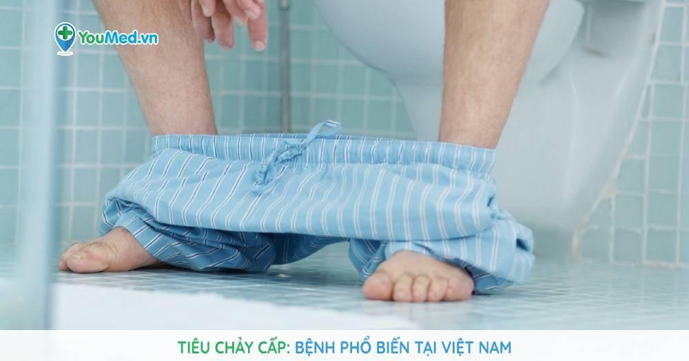 Tiêu chảy cấp vẫn là bệnh phổ biến tại Việt Nam