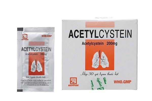 Thuốc N-Acetyl Cystein