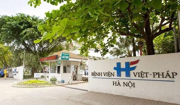 Quang cảnh bệnh viện Việt Pháp