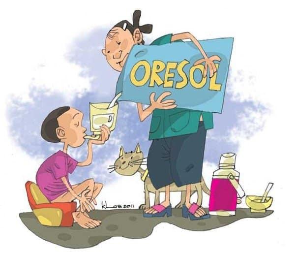Bổ sung Oresol để ngăn chặn tình trạng mất nước khi tiêu chảy