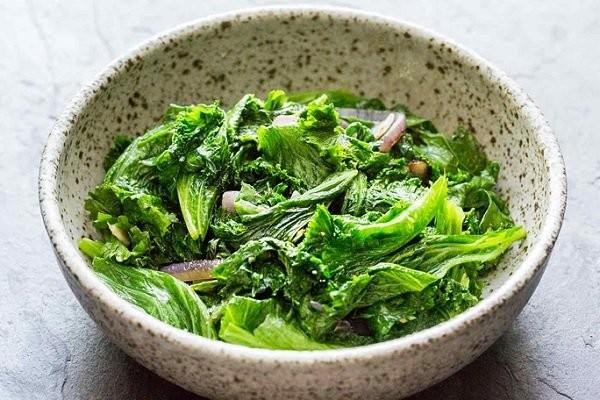 Rau cải xanh có thể chế biến được nhiều món