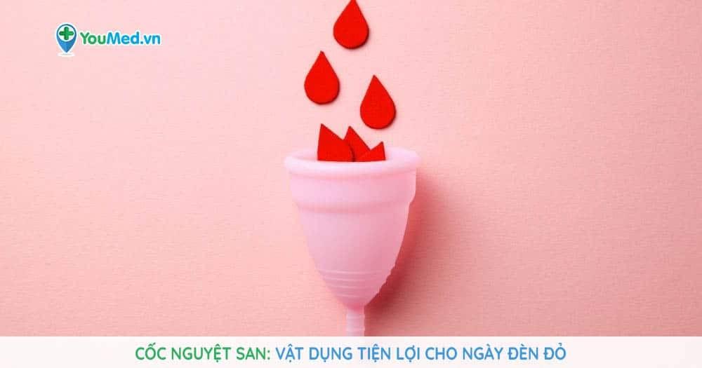 Cốc nguyệt san: Vật dụng tiện lợi cho ngày đèn đỏ