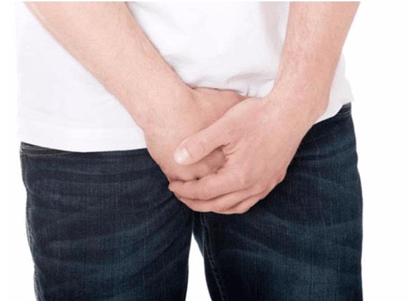 Một số triệu chứng của nang mào tinh