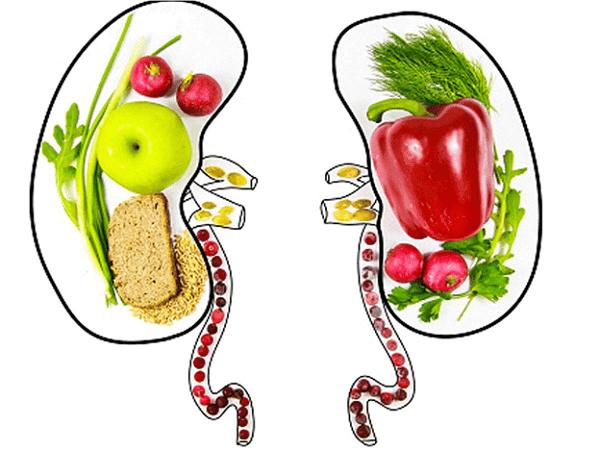 Chế độ ăn uống ngừa sỏi thận