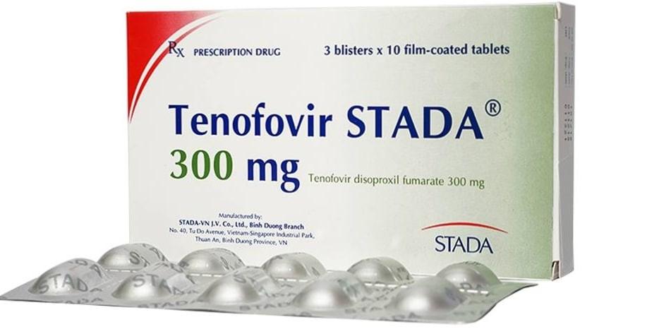 Hình ảnh thuốc tenofovir stada 300mg