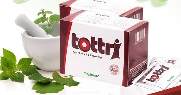 Hình ảnh thuốc trị trĩ Tottri