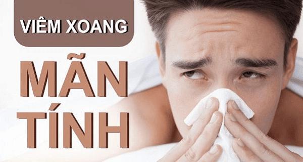 Viêm xoang mạng thường liên quan đến sưng mũi do dị ứng