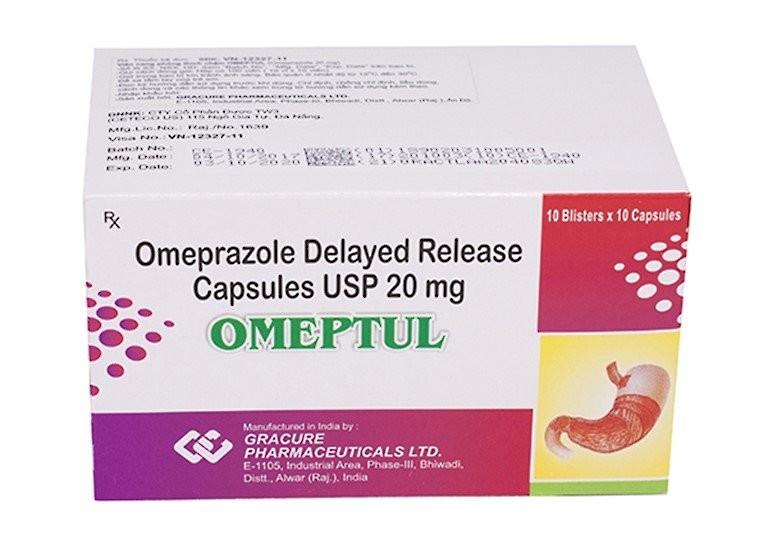 thuốc Omeptul 20mg