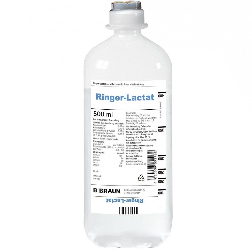 Dịch truyền Ringer Lactate 500ml
