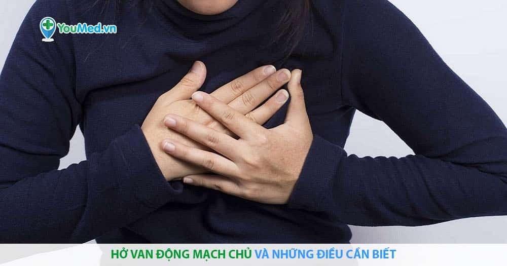 Hở van động mạch chủ và những điều cần biết