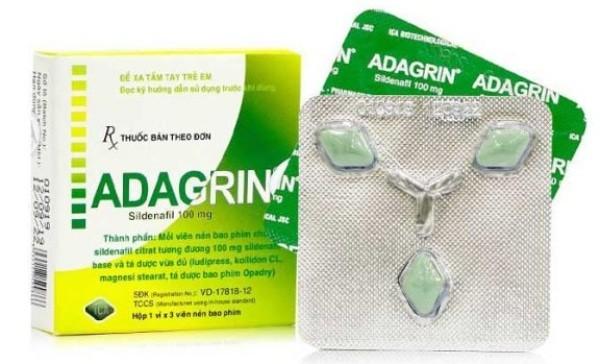 Hình ảnh thuốc Adagrin 100mg