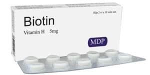 thuốc biotin 5mg