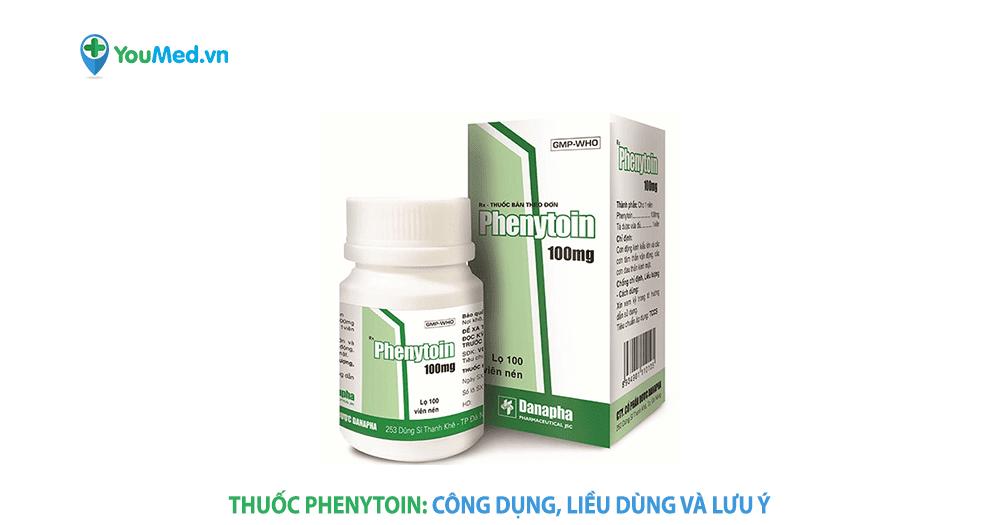 Kiểm soát động kinh với thuốc Phenytoin